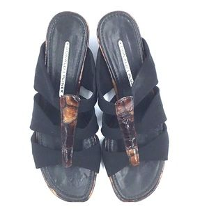 Donald Pliner Tortoiseshell Sandals Size 7.5M